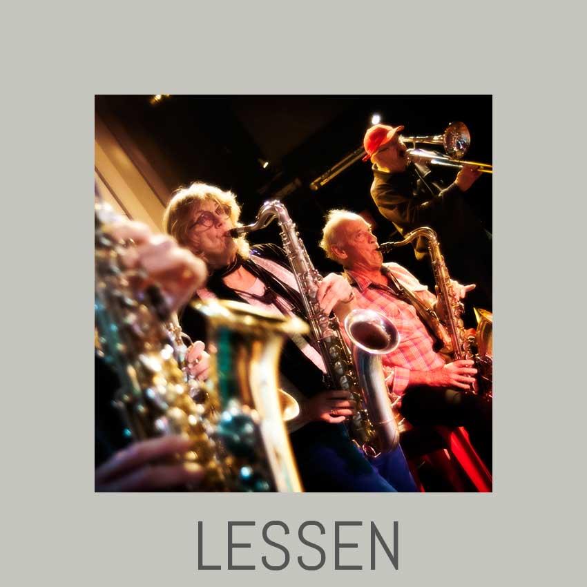 Saxofoonles - klarinetles